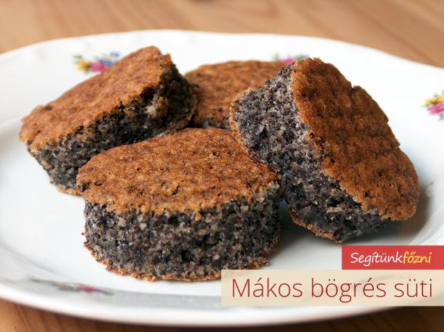 mákos bögrés süti